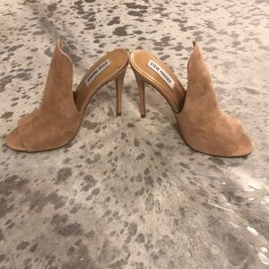 New Steve Madden Heels Size 7.5 Leather!